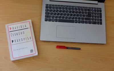 5 nejčastějších chyb včeštině, které nacházím na internetu